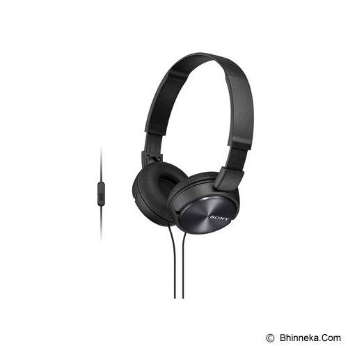 SONY Headphone [MDR ZX-310AP] - Black - Headphone Portable